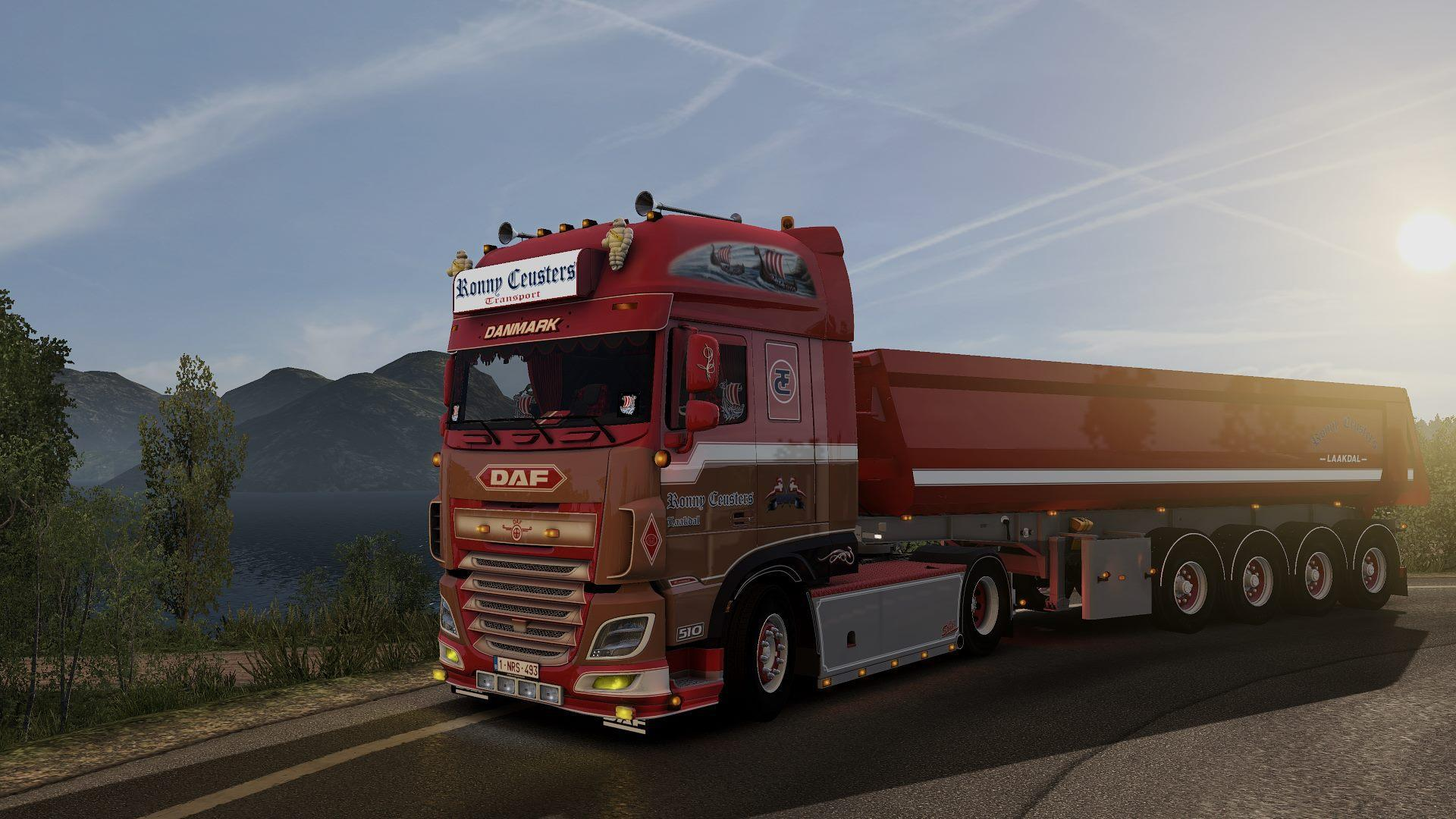 Daf Ronny Ceusters Transport & Trailer 1 34 - Modhub us