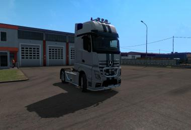 New sounds for Mercedes Actros New 1.34