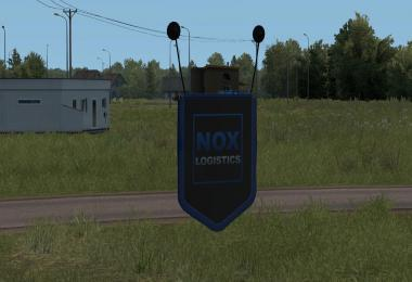Pennant with NoxLogistics logo 1.34.x