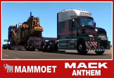 Skin Mammoet for Mack Anthem v1.0 1.34.x