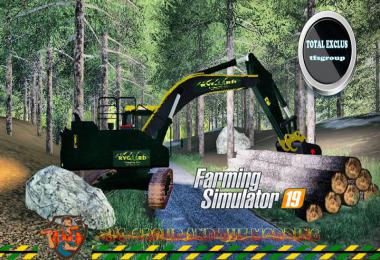Excavatrice RYGAARD TFSGROUP v1.0