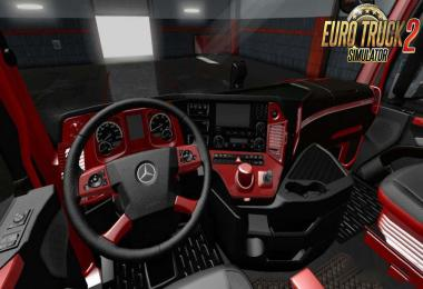Mercedes MP4 Red - Black LUX Interior 1.34.x