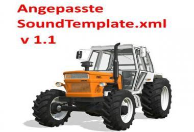 Angepasste SoundTemplate v1.1