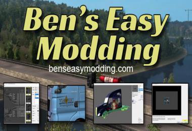 Ben's Easy Modding v1.1.1.0 For ATS & ETS2 1.34.x