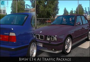BMW E34 TRAFFIC PACK 1.0 1.34.x