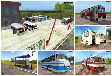 BUSPACK AND Bus station v1.0