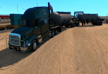 Cement Double Long Hopper MP-SP Multiplayer TruckersMP v1.0