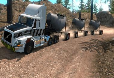 Cement Triple Hopper MP-SP Multiplayer TruckersMP v1.0