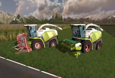 Claas Jaguar 800 Pack v1.0.0.0