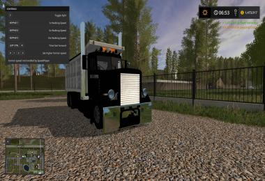 Custom peterbilt dump truck and matching pup trailer v1.0.0.3