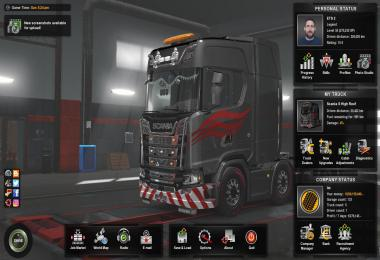 ETS 2 – 1.34 Finished Save Game Profile
