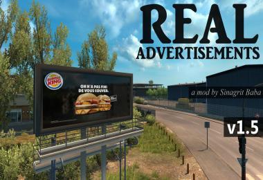 ETS 2 - Real Advertisements v1.5