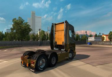 Exhaust Smoke for Scania Next Generation (high quality) 1.34.x