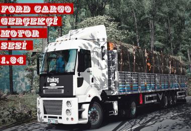 Ford Cargo 1838T E5 Realistic Engine Sound Mod v1.0