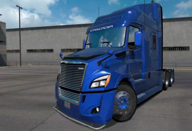 Freightliner Cascadia 2018 Ultrabald Edition for ATS 1.34.x v1.6