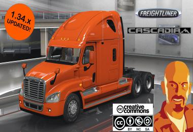 FREIGHTLINER CASCADIA ATS 1.34.x