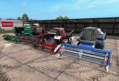 FS17 BEST PACK COMBINES v1.0