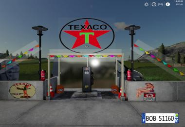 FS19 Station Texaco BY BOB51160 v1.0.0.0