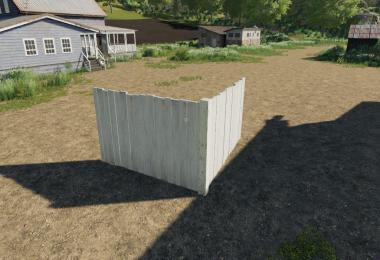 FS19 WoodenFences Placeable v1.0