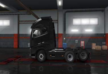 Higher lifted axle pack 1.34