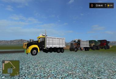 Kenworth t880 dump truck v1.0.0.3