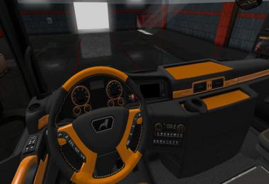 MAN Euro 6 Black - Orange Interior 1.34.x