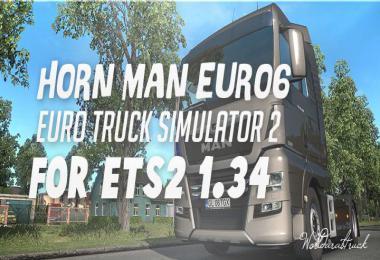 Man Euro 6 - Horn - ETS2 1.34.x