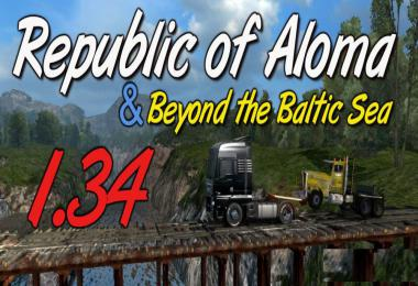 Map Republic of Aloma and Beyond the Baltic Sea 1.34