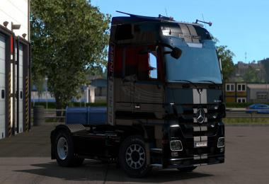 Mercedes-Benz Actros MP3 Black & White Liner 1.34.x