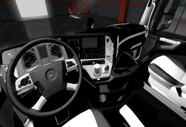 Mercedes Benz MP4 White - Black LUX Interior 1.34.x