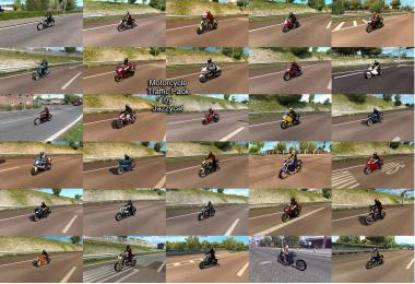 Motorcycle Traffic Pack by Jazzycat v2.6