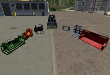 New JaSo skid steer loader with color choice v1.0