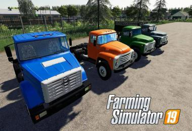 Pack Truck ZIL and trailers v1.0