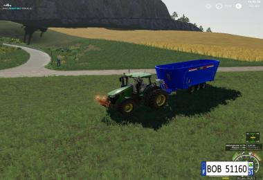 Peecon Big Mixer Wagon Fs19 v1.0