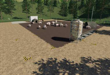 Placeable open Pig Area v1.0