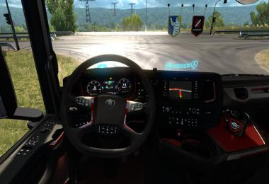 Platinium Interior for Scania Next Generation (high quality) v1.0