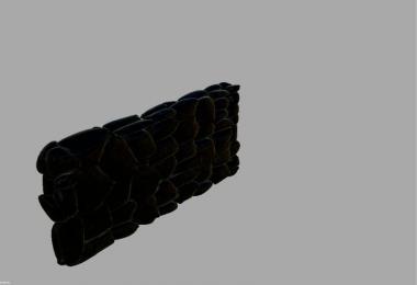 Prefab stone wall v1.0