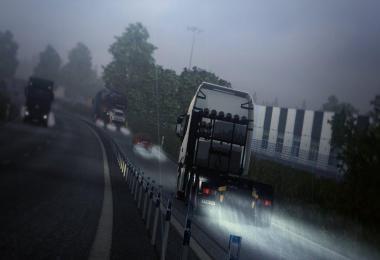 Realistic Rain & Fog & Thunder Sounds v1.2 1.34.x