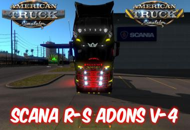Scania R-S Adons v4.0 for ATS 1.34