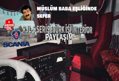 Scania RJL Turkish Interior v1.0