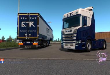 Skin Pack Transport & Logistics for Scania S & R Next Gen v1.0