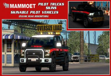 Skinable Pilot Vehicles (Mammoet) v1.0 1.34.x