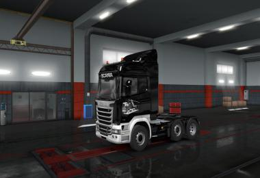 Streamline Black & White Lightning Skin v1.0
