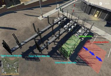 Timber Runner Wide With Autoload Wood v1.2