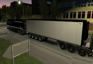 Trailer High Capacity With Cistern MP-SP TruckersMP 1.34.x