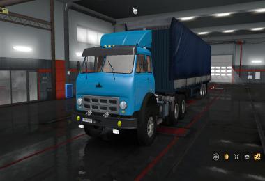 Truck Maz 504b-515b + Trailer 9758 1.34