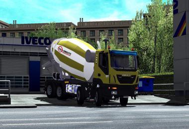 Iveco Hi-Land Concrete Mixer 1.34
