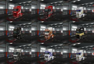 Wolf Skin Pack for Scania RJL v2.2.3 Vol.8 1.34.x