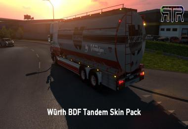 Würth BDF Tandem Skin Pack