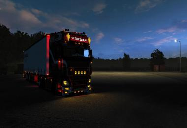 Yellow Xenon Lights for all Trucks 1.34.x